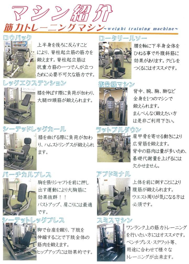 フィットネスマシン1