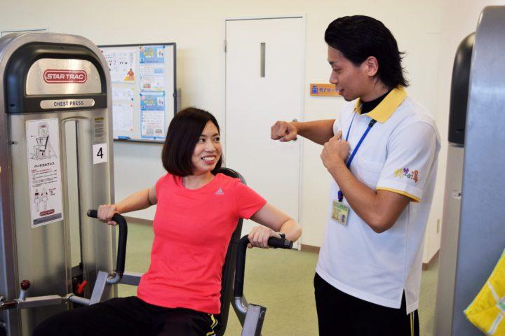 ご希望のお客さまには健康増進・ダイエットなどの個別プログラムの提供・指導をいたします。